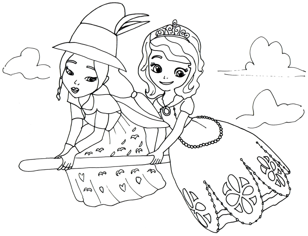 Sofia the first (1) - Printable coloring pages