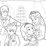 Sofia the First coloringpages -