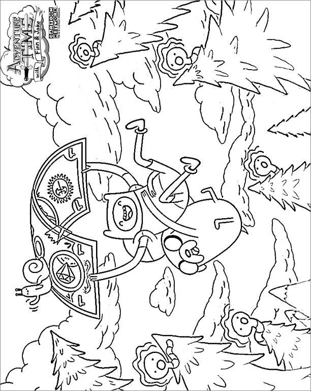 AdventureTime (27) - Printable coloring pages