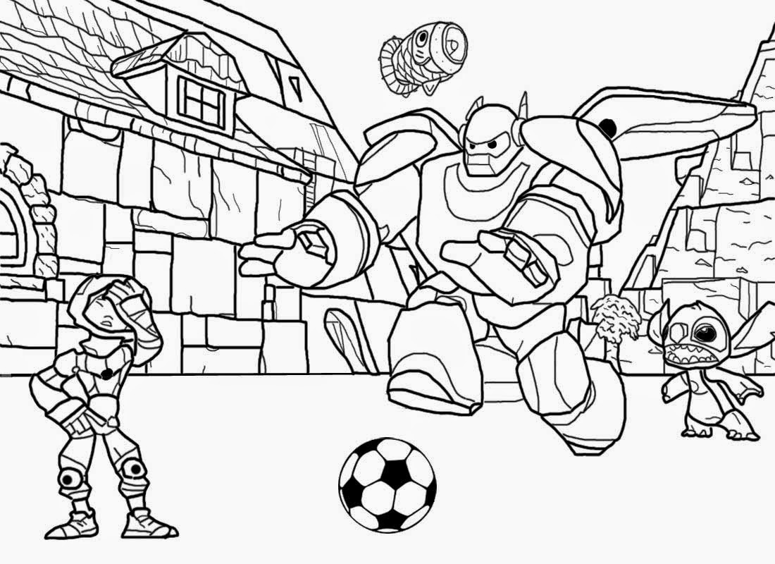 Big Hero 6 10 Printable Coloring Pages