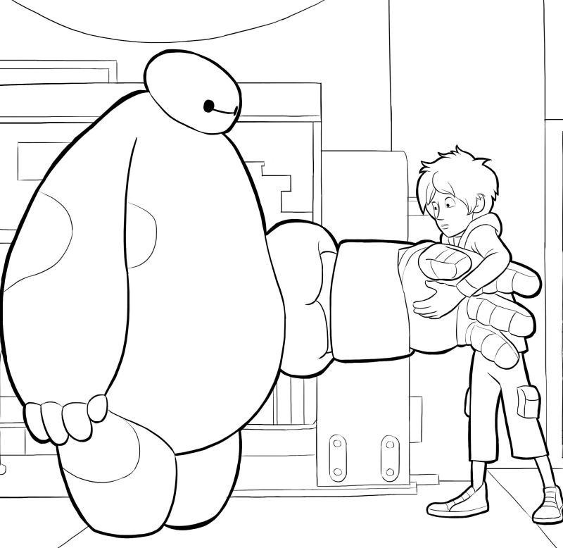Big Hero 6 14 Printable Coloring Pages