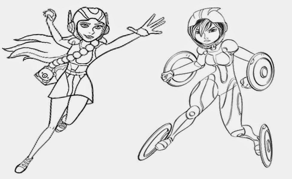 Big Hero 6 16 Printable Coloring Pages